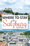 Where to stay in Salzburg Pin