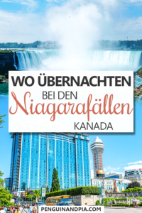 Wo übernachten bei den Niagarafällen Pin