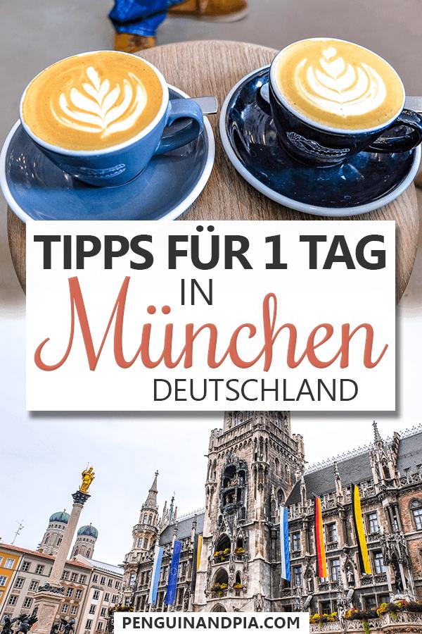 Ein Tag in München Pin