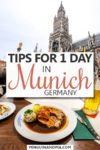 One day in Munich Pin