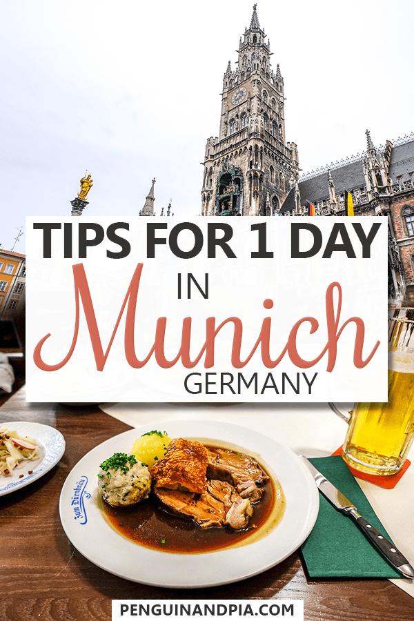 One day in Munich Pin