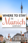 Where to stay in Munich Pin