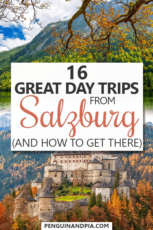 Day Trips from Salzburg Pin