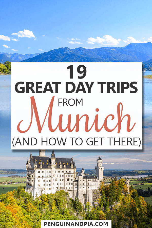 Day Trips from Munich Pin