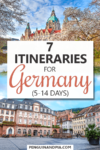 Itineraries for Germany Pin
