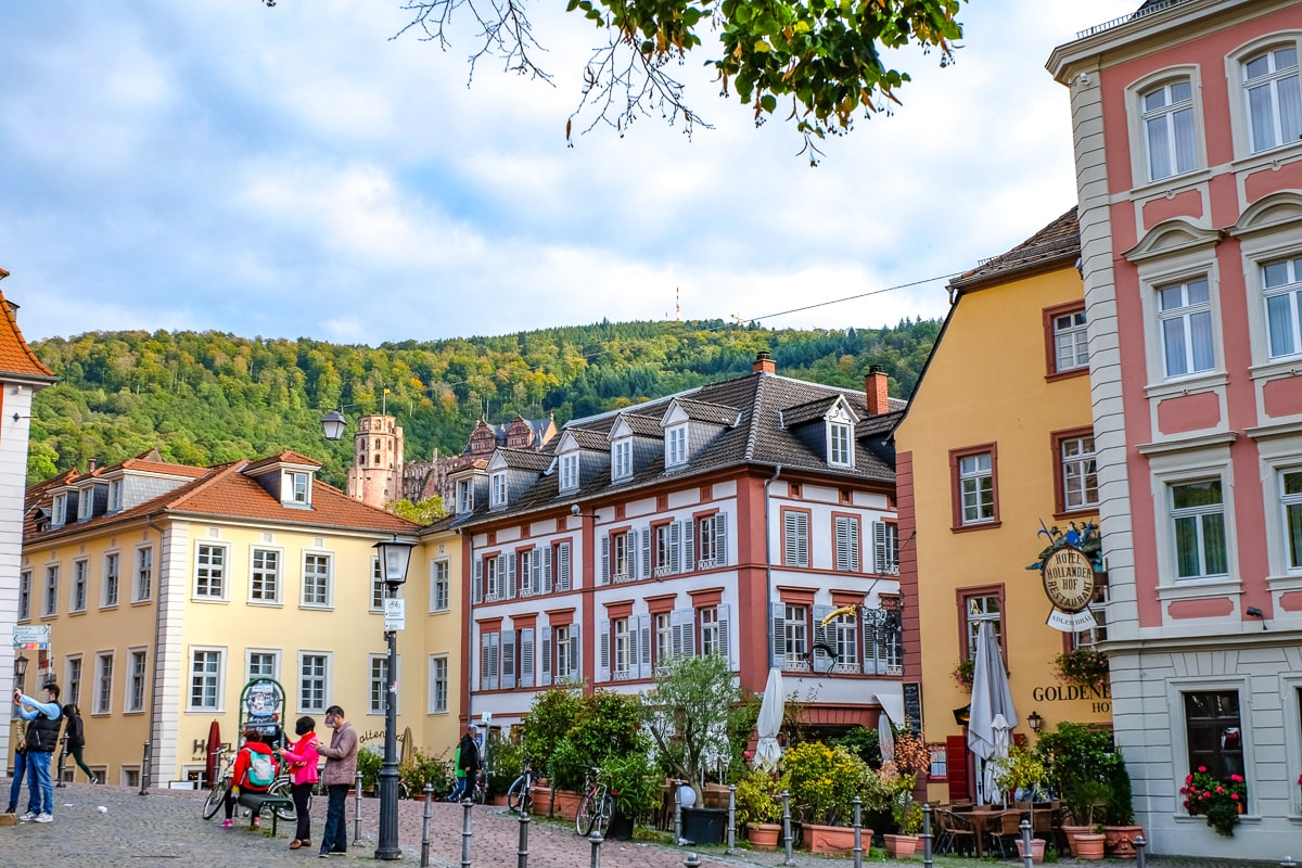 colourful germany old town buildings and hotels where to stay in heidelberg