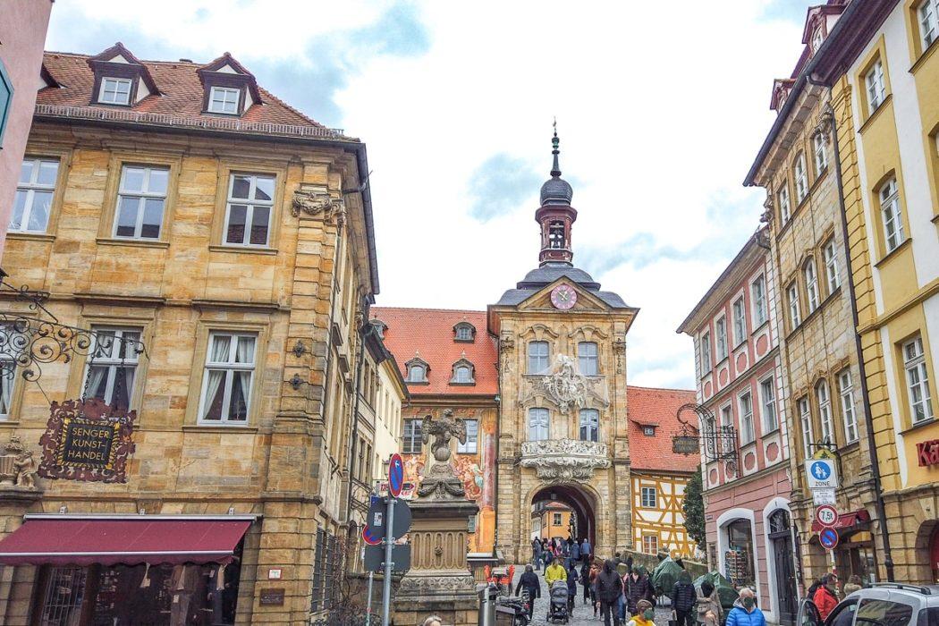 ALte Gebäude in Altstadt von Bamberg